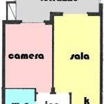 centralissimo comodo 2 locali con terrazzo e posto auto cintato. a  per