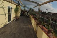 Attico centro Alassio con ampio terrazzo.