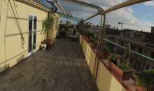 Attico centro Alassio con ampio terrazzo. a  per