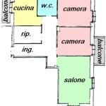 Vicino mare  e stazione ampio alloggio libero su 3 lati. a  per