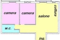 Centralissimo ultimo piano con ascensore in condizioni pari al nuovo.