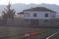 Campochiesa villa libera sui 4 lati con terreno di 1000 mq.
