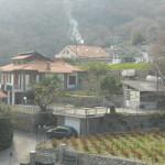 Villa trifamiliare con terreno e stupenda vista golfo ed isola Gallinara. a  per