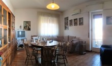 La sala da pranzo.