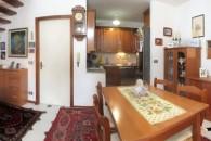 La casa semindipendente, su 2 livelli, in centro Albenga.