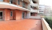 Il terrazzo.