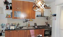 La zona cucina.